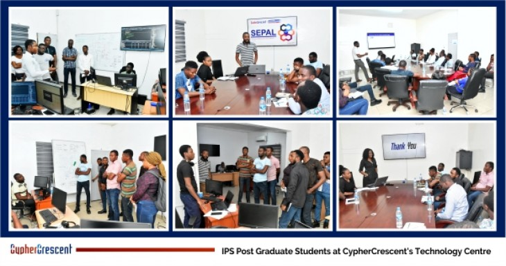 CypherCrescent Hosts IPS Post-Graduate Students at Its Technology Centre in Port Harcourt
